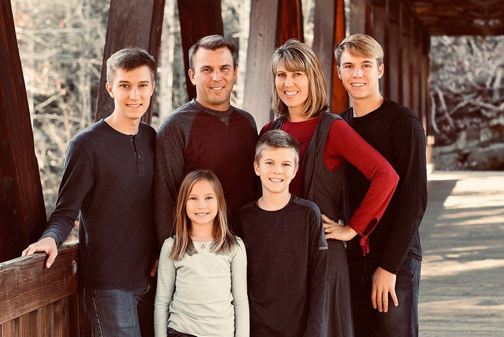 Tammy Oostdyk and family